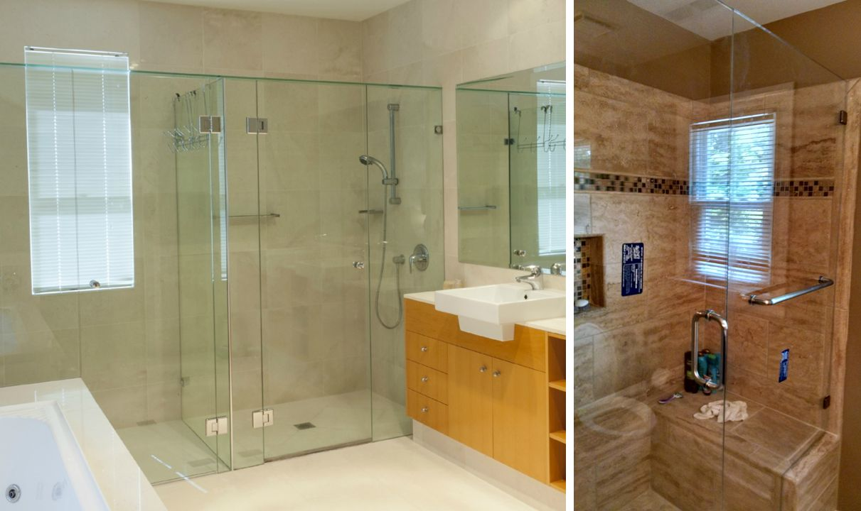 shower framed door oc ca doors glass enclosures county installation and orange sliding contractor