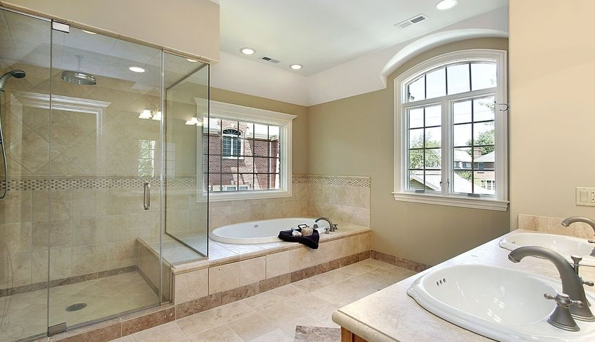 richmond glass shower enclosure - glass shower door
